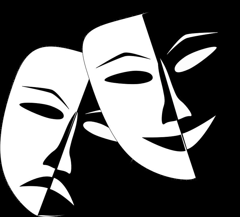 Театральные маски настроения