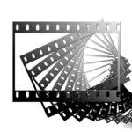 Черно-белая киноплёнка