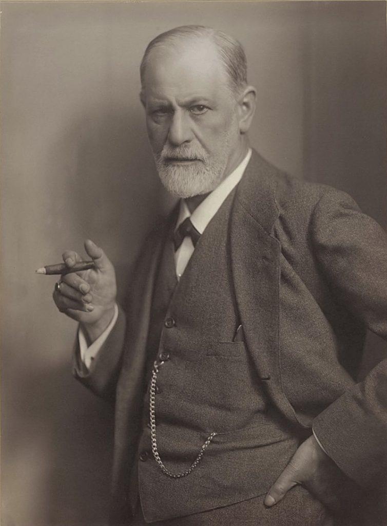 Фрейд удивлённый. Sigmund Freud, by Max Halberstadt