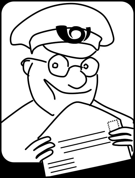 Почтальон с ходатайством
