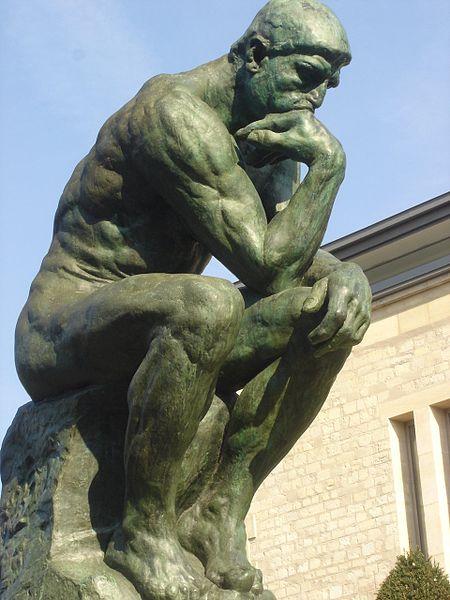 Огюст Роден. Думающий человек