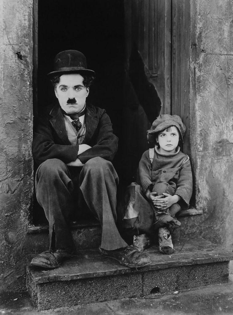 Чаплин грустный