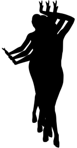 Женщины танцуют в ногу