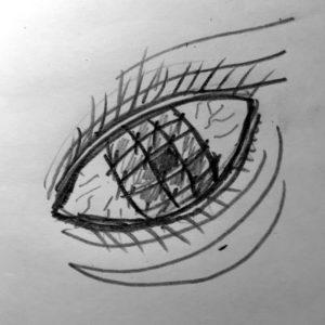Глаз за решёткой