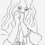 Матисс. Женщина с распущенными волосами.