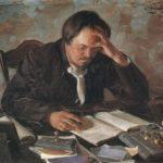 Картина. Писатель Чириков 1904 год