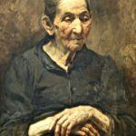 Портрет пожилой женщины (1908)