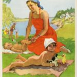 Советский плакат. СЛедуйте инструкциям врача.